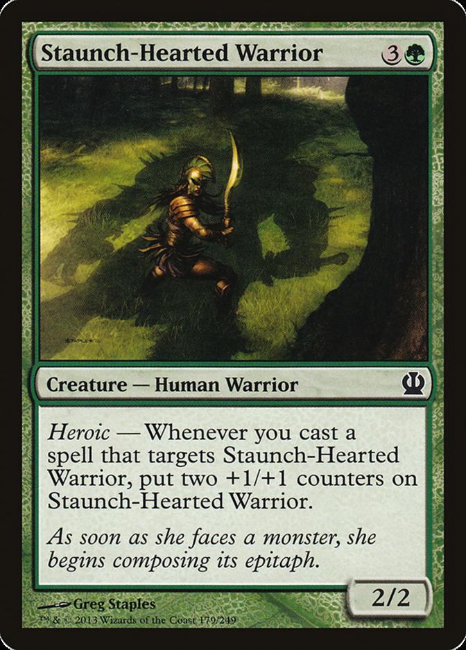 Staunch-Hearted Warrior [THS]