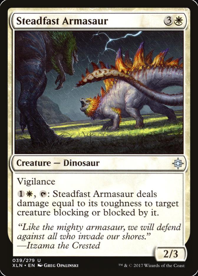Steadfast Armasaur [XLN]
