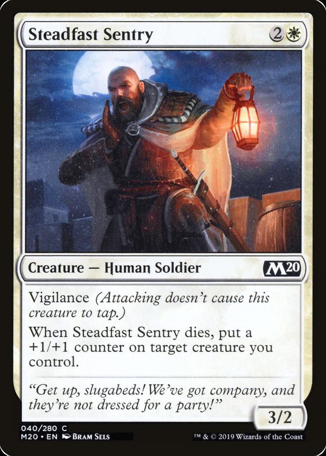 Steadfast Sentry [M20]