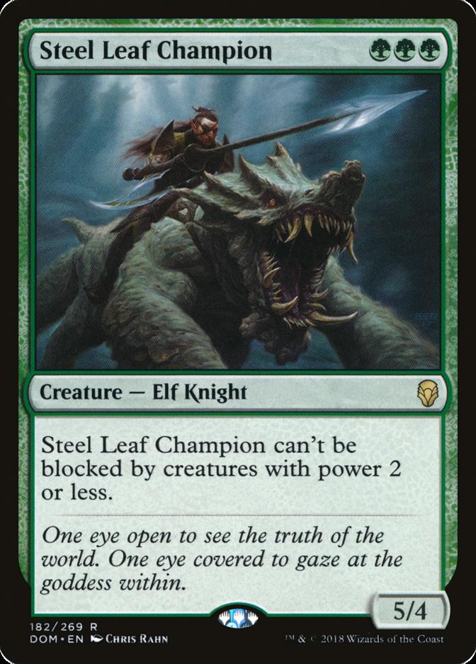 Steel Leaf Champion [DOM]