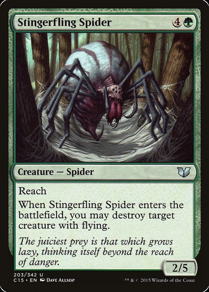 Stingerfling Spider [C15]
