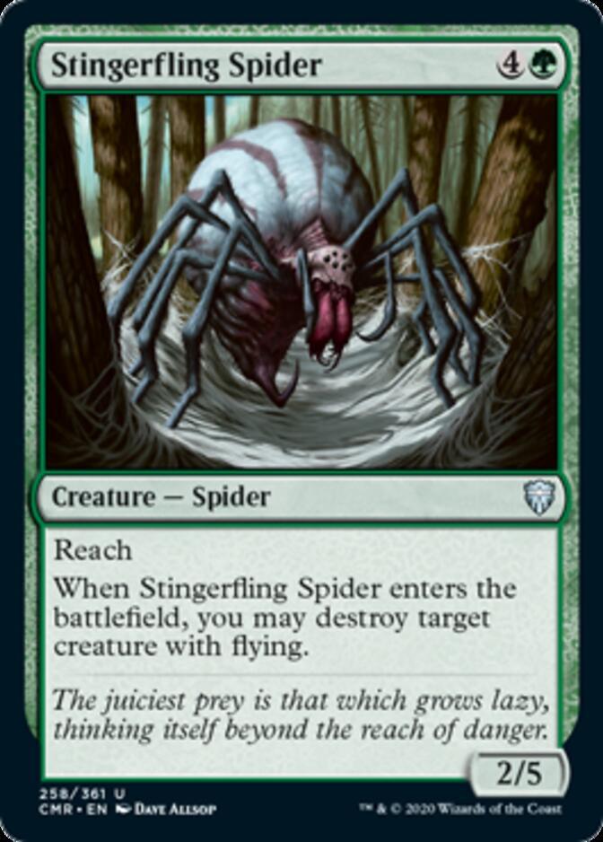 Stingerfling Spider [CMR]