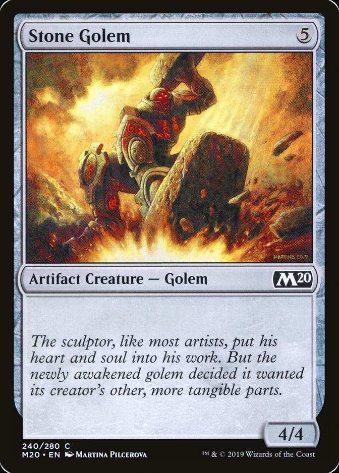 Stone Golem [M20]