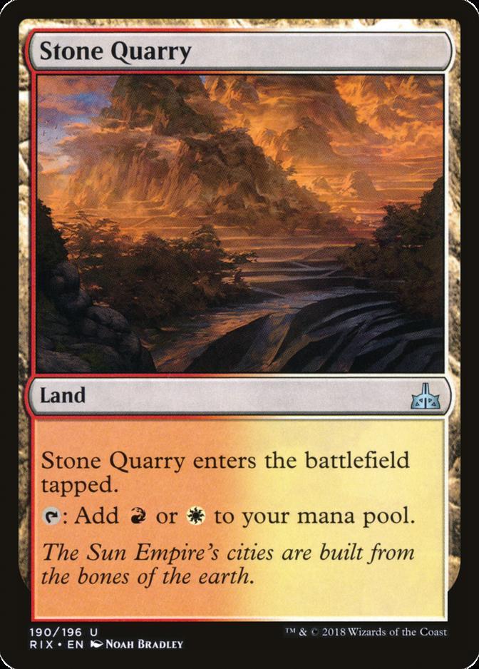 Stone Quarry [RIX] (F)