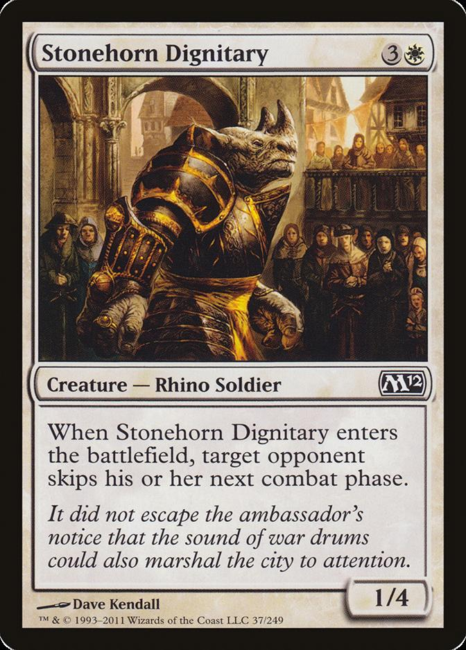 Stonehorn Dignitary [M12]