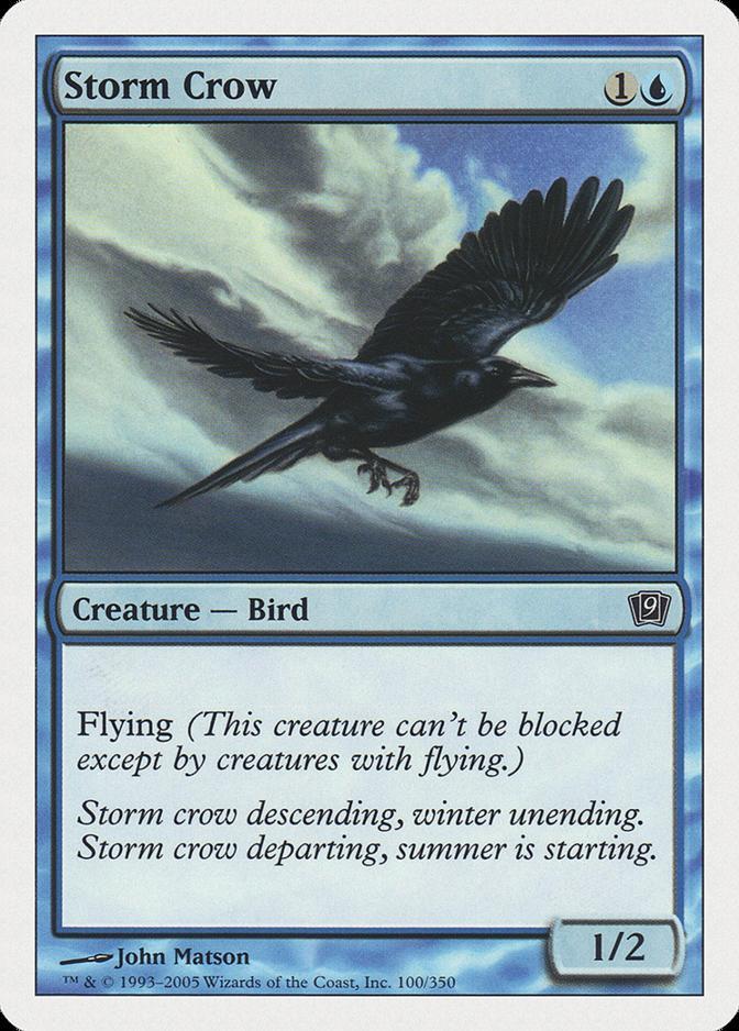 Storm Crow [9ED] (F)