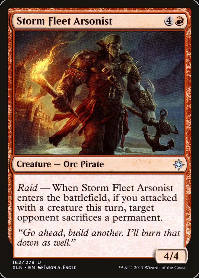 Storm Fleet Arsonist [XLN]