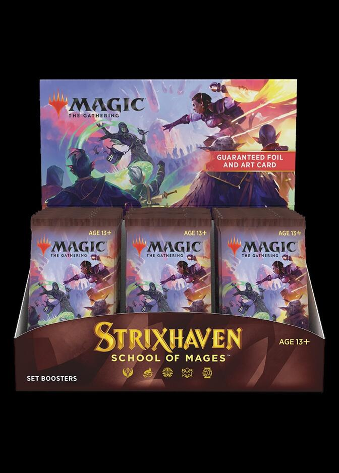 Strixhaven: School of Mages Set Booster Box <sealed> [STX]