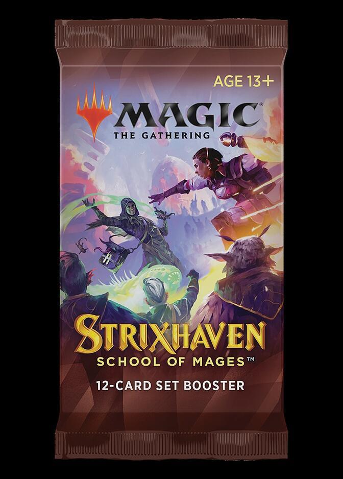 Strixhaven: School of Mages Set Booster Pack <sealed> [STX]