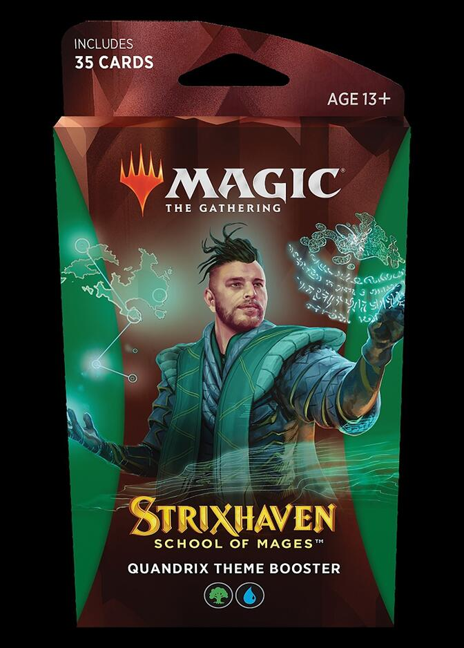 Strixhaven: School of Mages Theme Booster: Quandrix <sealed> [STX]