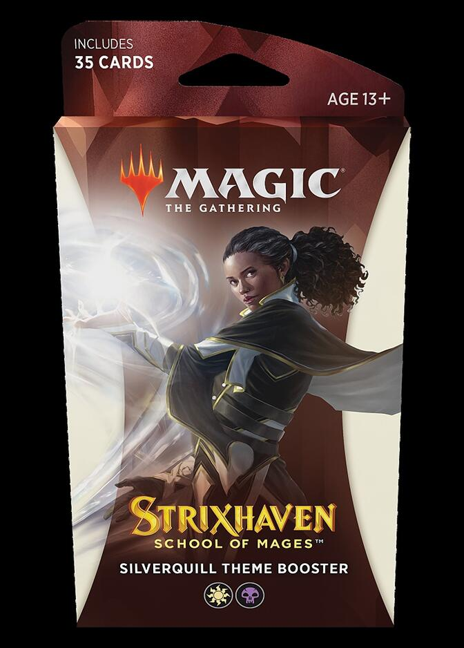Strixhaven: School of Mages Theme Booster: Silverquill <sealed> [STX]