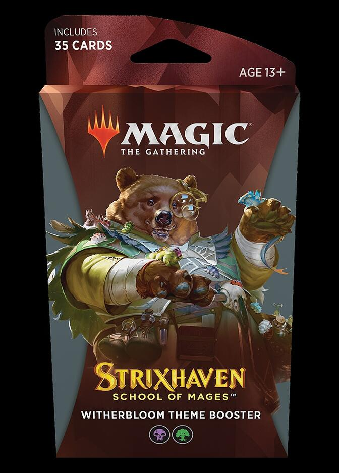 Strixhaven: School of Mages Theme Booster: Witherbloom <sealed> [STX]