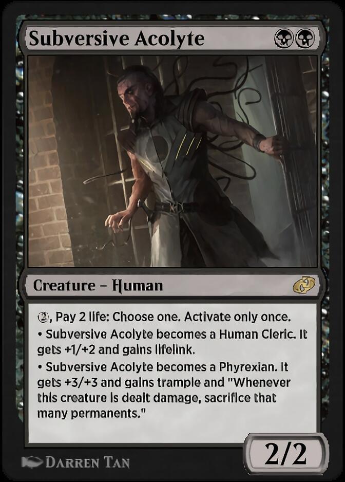 Subversive Acolyte [J21]