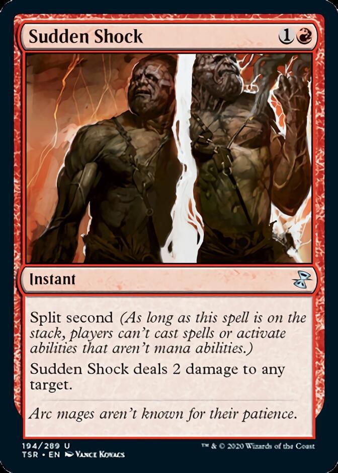 Sudden Shock [TSR]