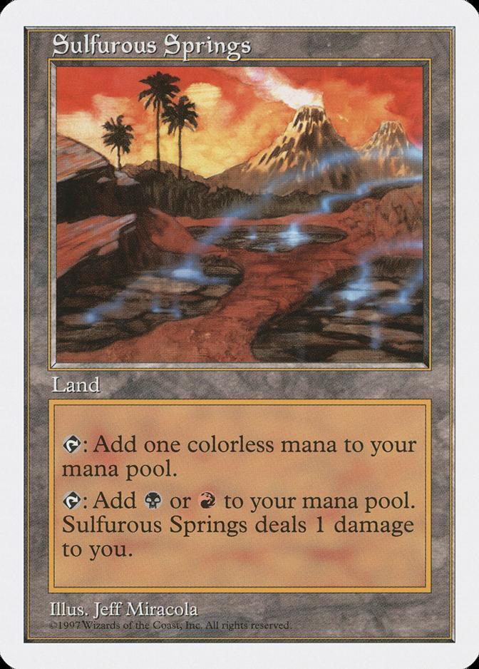 Sulfurous Springs [5ED]