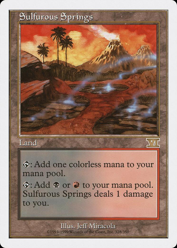 Sulfurous Springs [6ED]