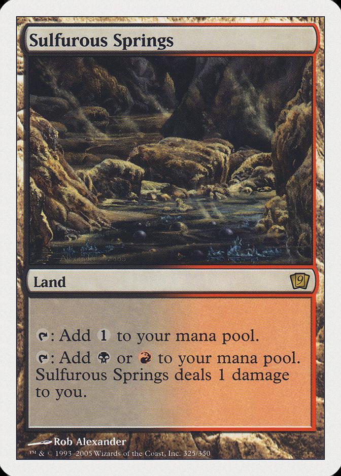 Sulfurous Springs [9ED]