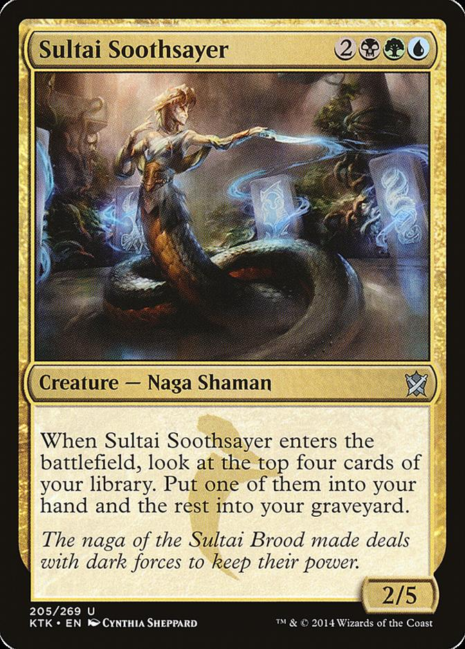 Sultai Soothsayer [KTK]