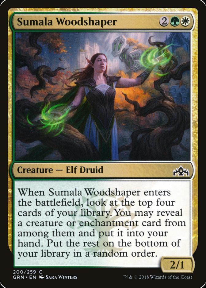 Sumala Woodshaper [GRN]