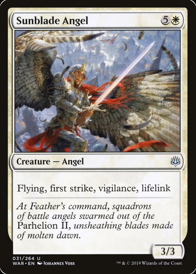Sunblade Angel [WAR]