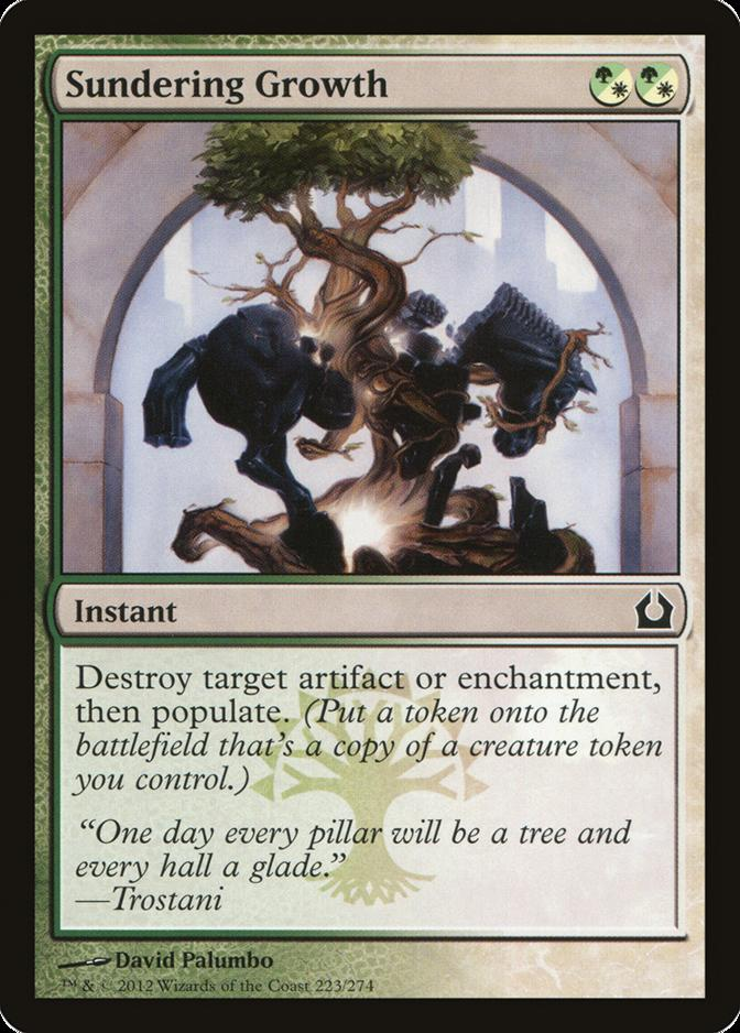 Sundering Growth [RTR] (F)
