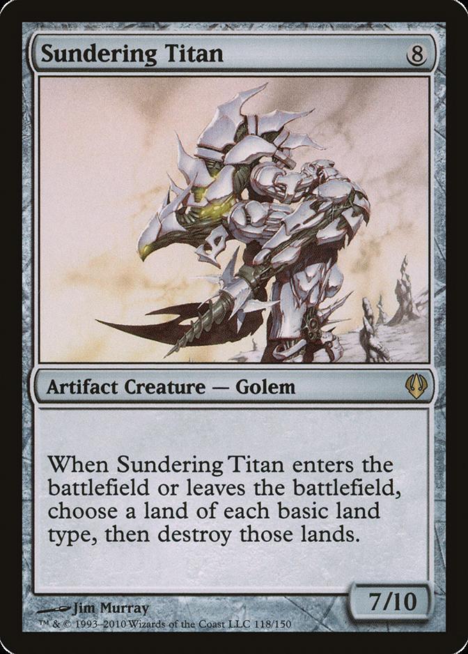 Sundering Titan [ARC]