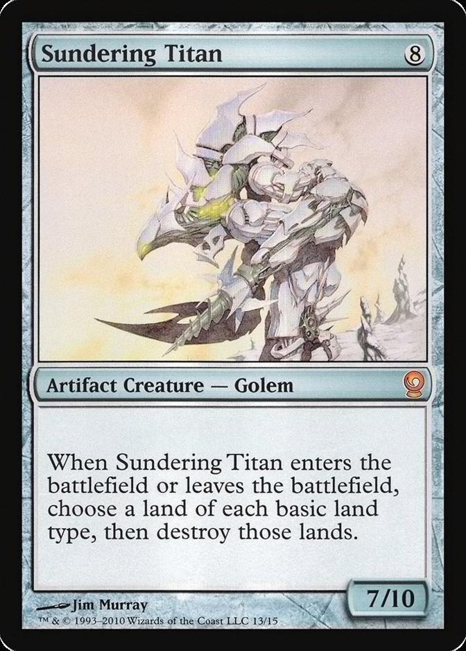Sundering Titan [V10] (F)