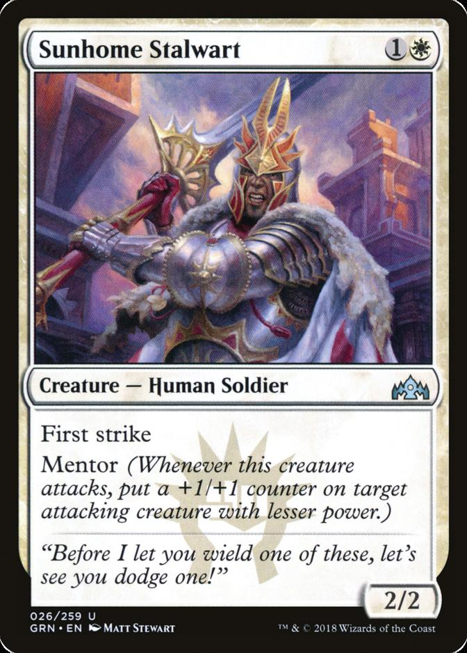 Sunhome Stalwart [GRN]