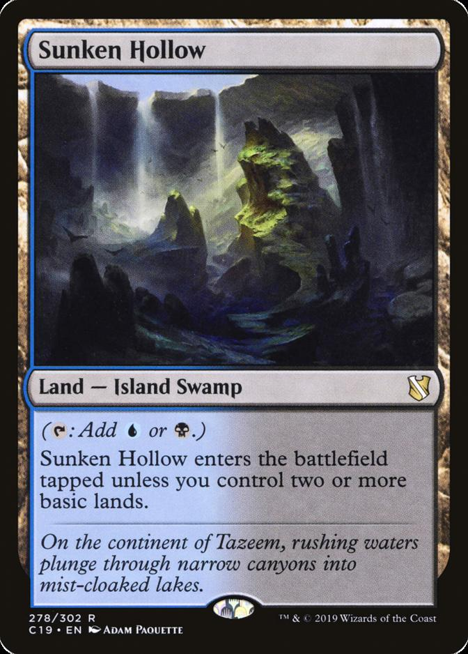 Sunken Hollow [C19]