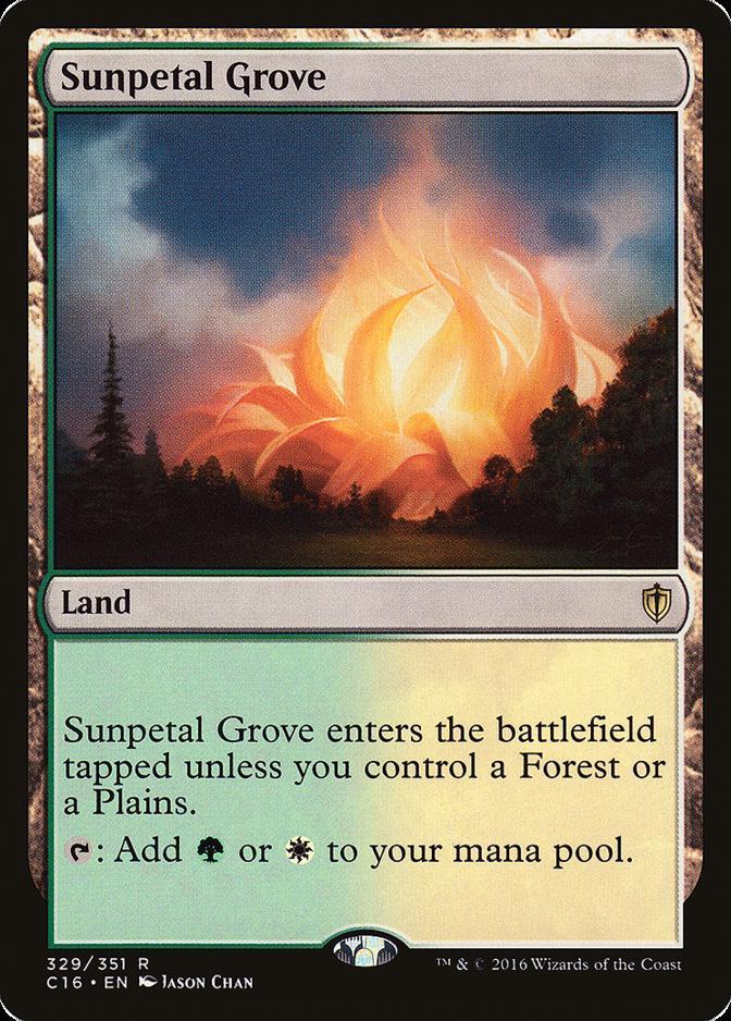 Sunpetal Grove [C16]