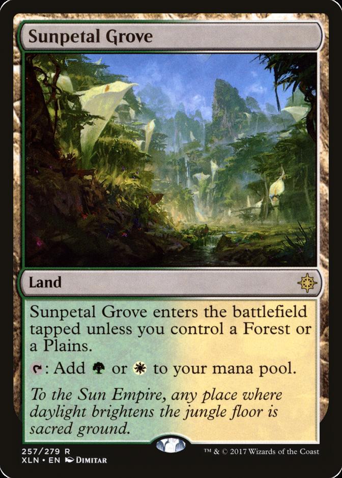 Sunpetal Grove [XLN]