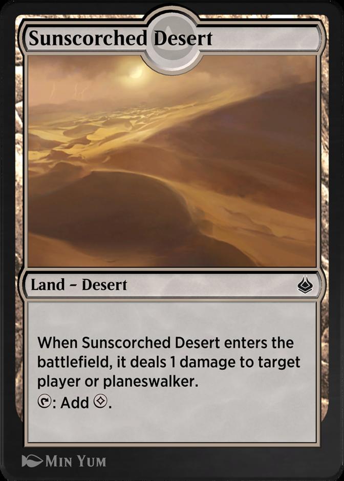 Sunscorched Desert · Amonkhet (AKH) #249 · Scryfall Magic