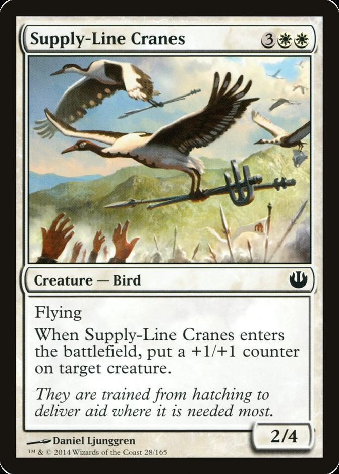 Supply-Line Cranes [JOU]