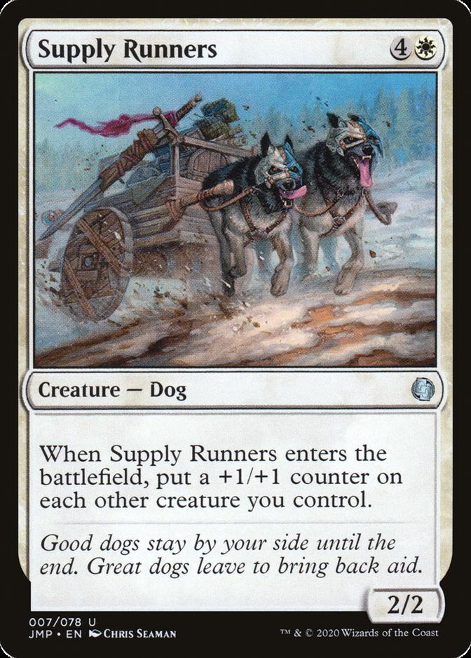 Supply Runners [JMP]