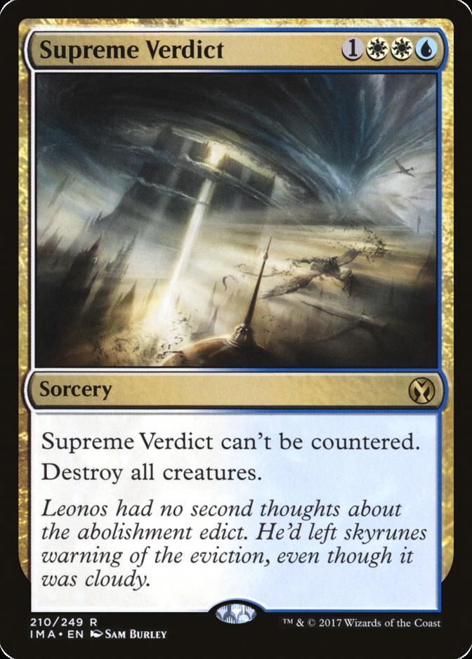 Supreme Verdict [IMA]