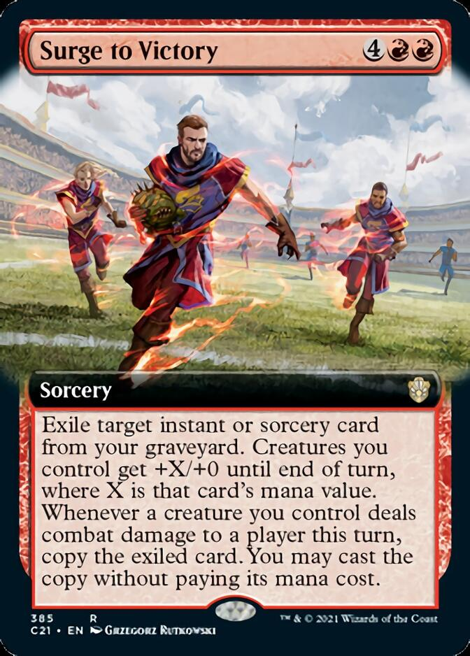 Surge to Victory <extended> [C21]