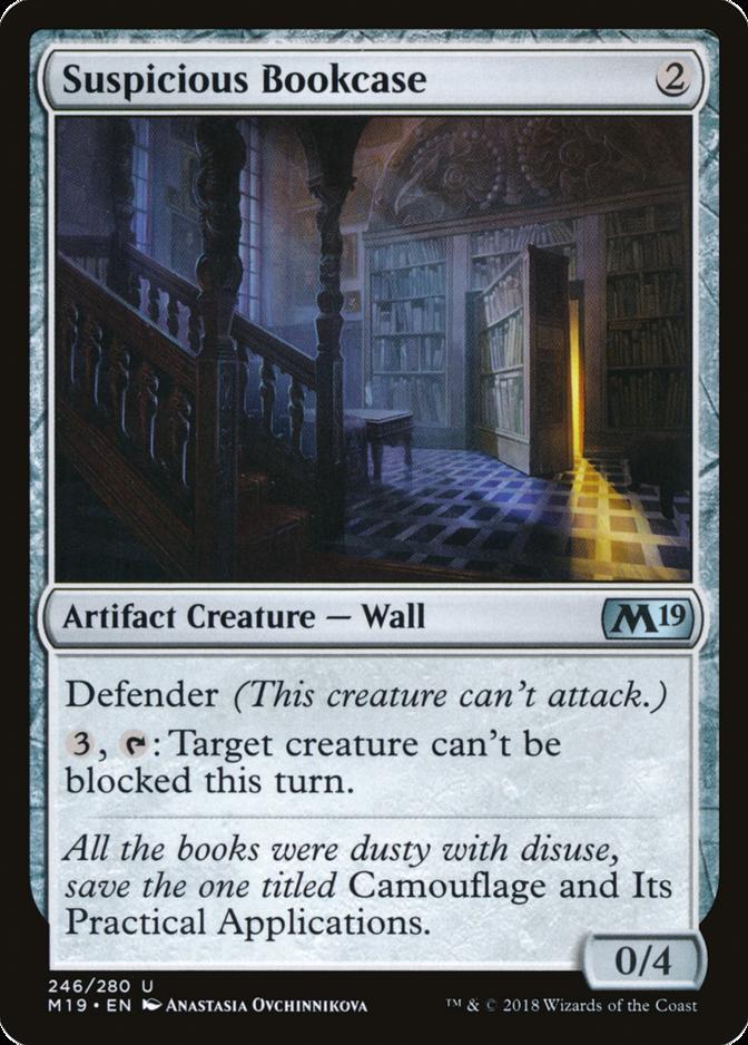Suspicious Bookcase [M19] (F)