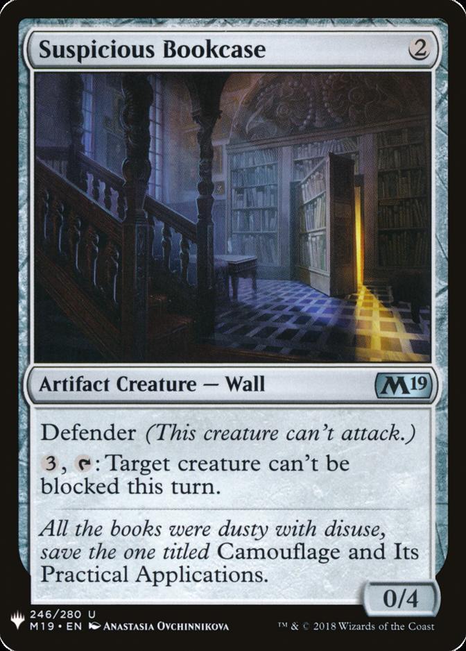 Suspicious Bookcase [MB1]
