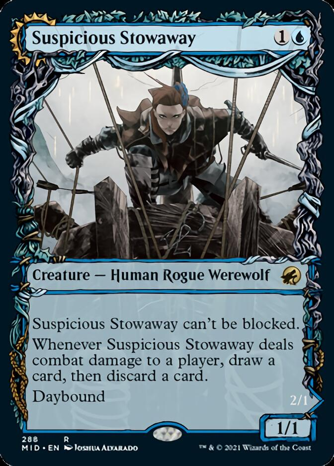 Suspicious Stowaway <showcase> [MID]