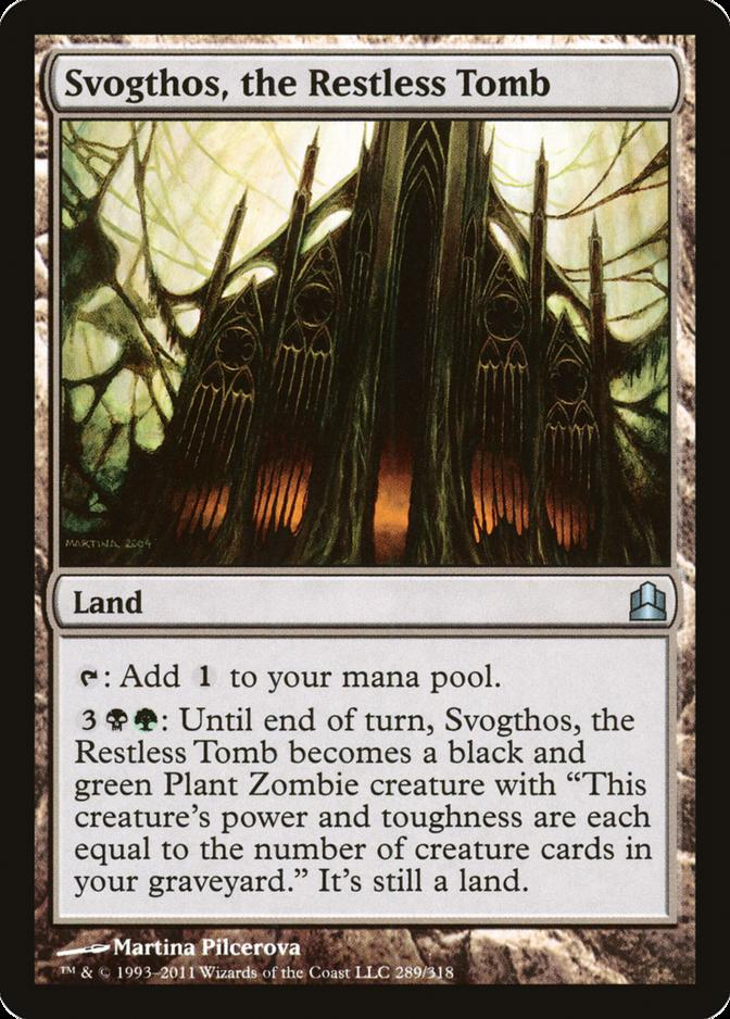 Svogthos, the Restless Tomb [CMD]