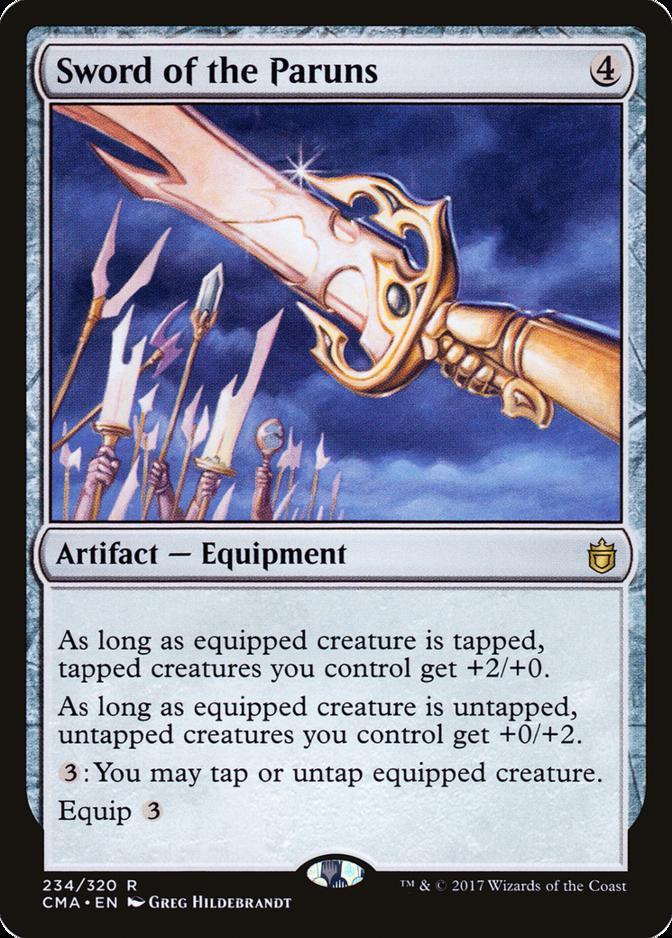 Sword of the Paruns [CMA]
