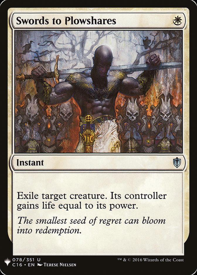 Swords to Plowshares [MB1]