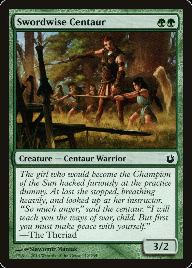 Swordwise Centaur [BNG] (F)