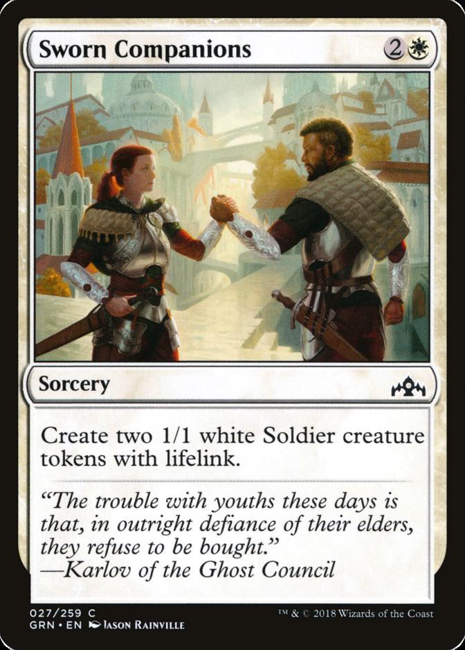 Sworn Companions [GRN]