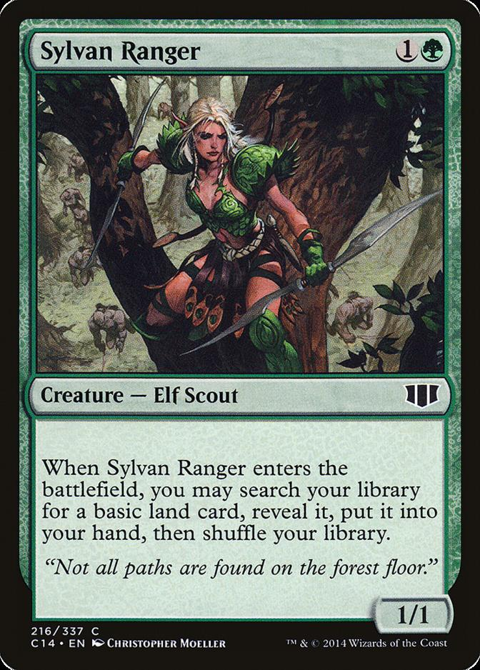 Sylvan Ranger [C14] (F)
