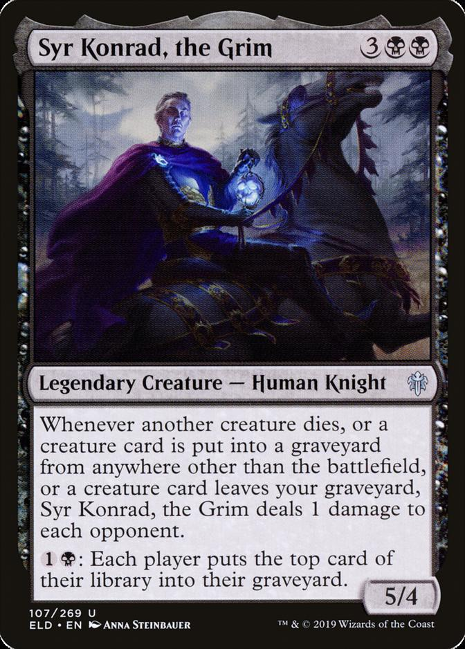 Syr Konrad, the Grim [ELD]