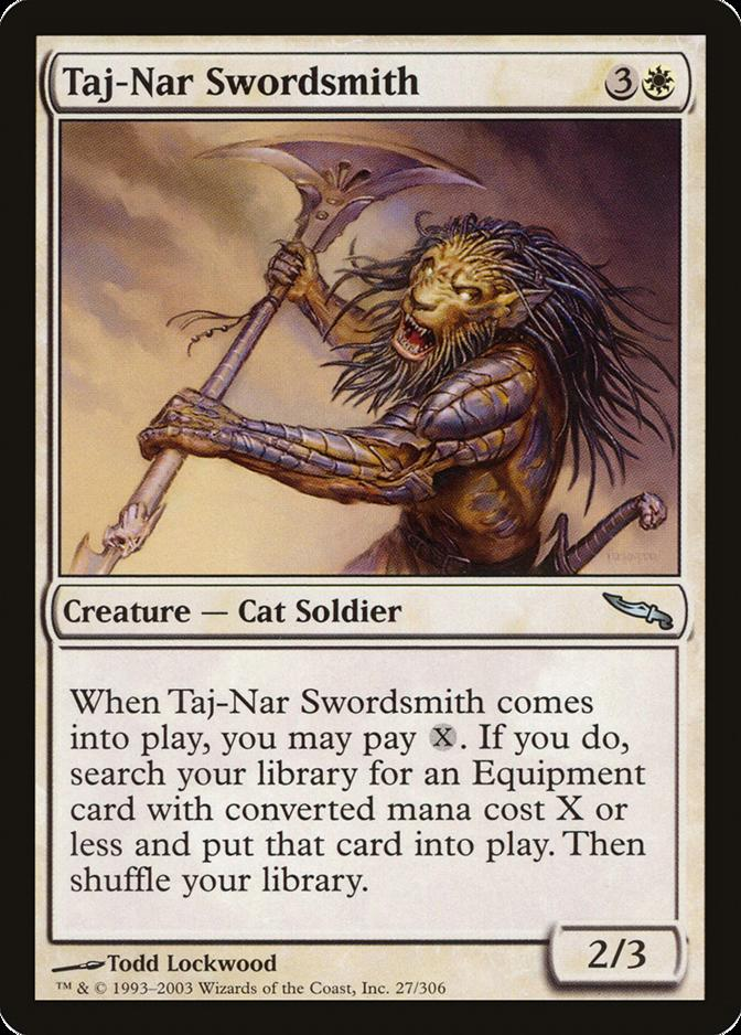 Taj-Nar Swordsmith [MRD]