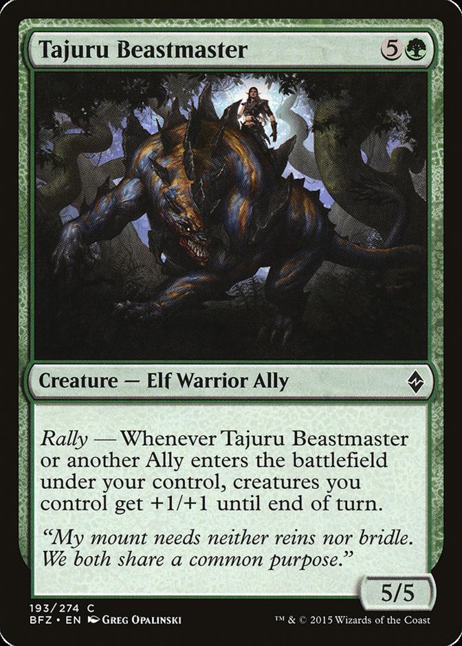 Tajuru Beastmaster [BFZ]