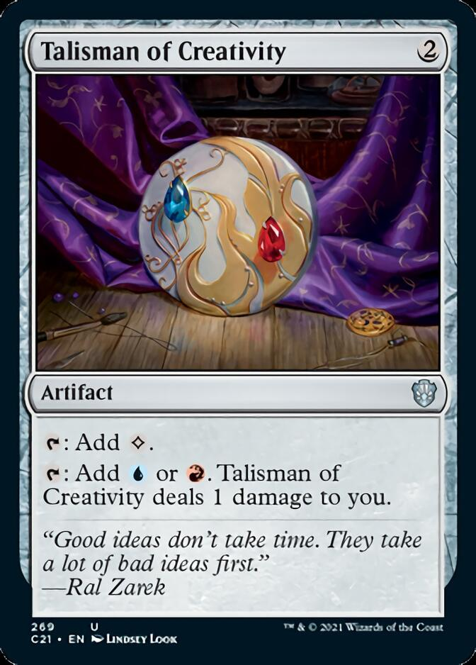 Talisman of Creativity [C21]