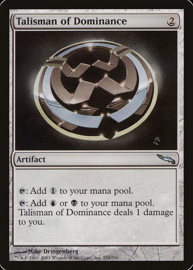 Talisman of Dominance [MRD]